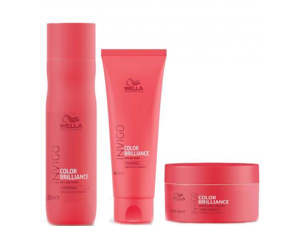 Free Wella Invigo Brilliance Shampoo, Conditioner & Mask!